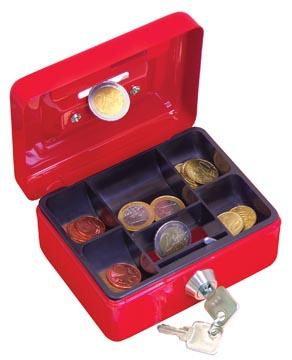 Wedo geldkoffer, ft 12,5 x 9,5 x 6,3 cm, geassorteerde kleuren