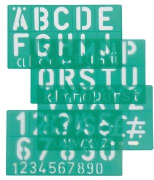 Linex lettersjabloon 30 mm