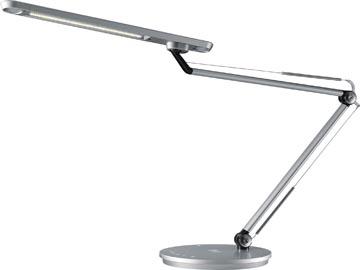 Hansa bureaulamp Smart, LED-lamp, zilver