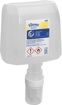 Kimberly-Clark Kleenex alcoholgel désinfectant les mains, incolore, 1,2 litre