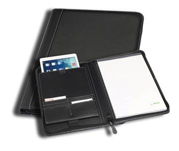 Rillstab iPad Map Genève,ft A4, zwart