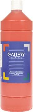Gallery plakkaatverf, flacon van 1 l, donkerrood