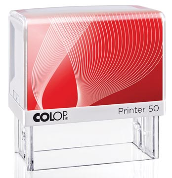 Colop stempel met voucher systeem Printer Printer 50, max. 7 regels, ft 69 x 30 mm