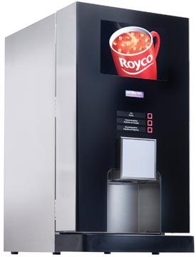 Soepautomaat Royco Q_Line - bruikleenformule